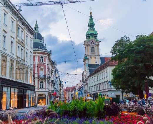 Austrija, Gracas. Herrengasse