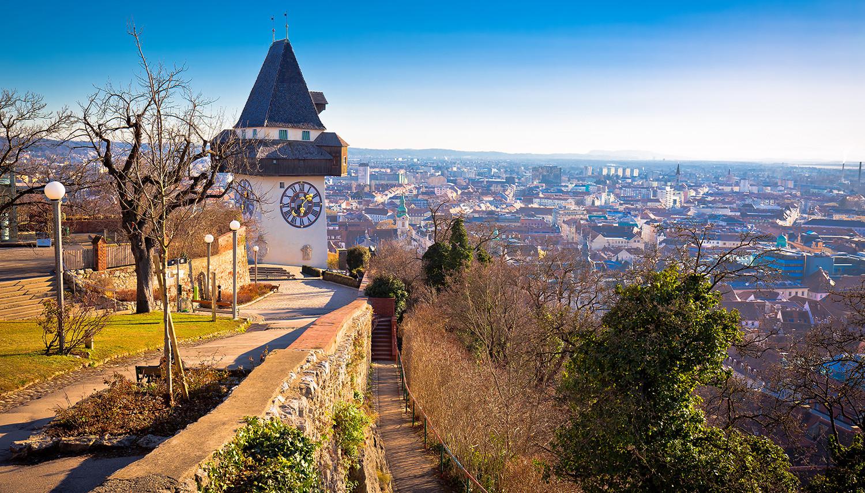 Austrija, Gracas. Pilies kalnas