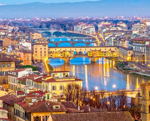 Italija. Florencija