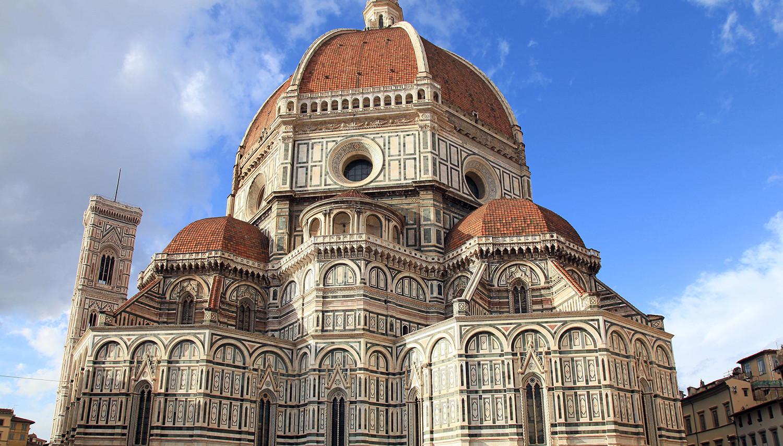 Italija, Florencija. Santa Maria del Fiore katedra