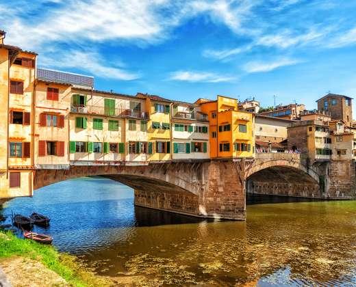 Italija. Ponte Vecchio tiltas
