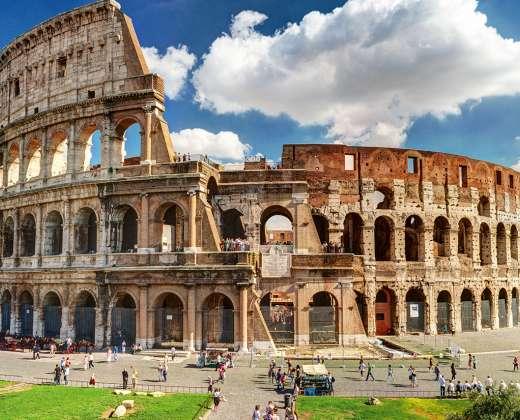 Italija, Roma. Koliziejus