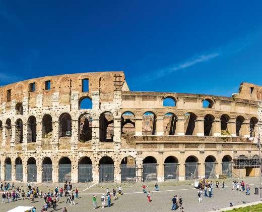 Italija, Roma. Flavijų amfiteatras