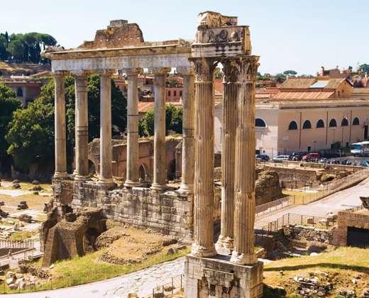 Italija, Roma. Romėnų forumas