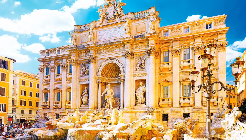 Italija, Roma. Trevi fontanas