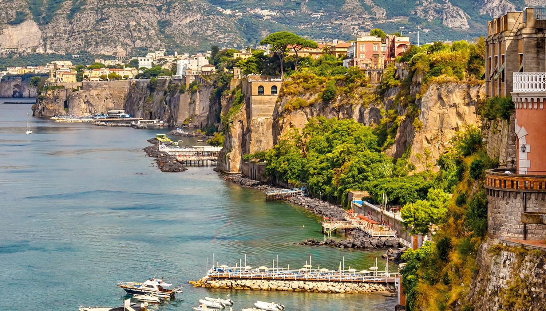 Italija. Sorentas