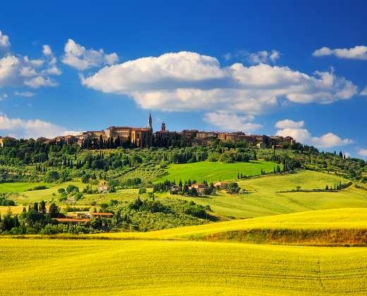 Italija. Siena