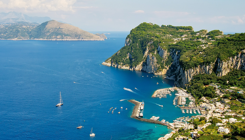 Italija nuo Venecijos iki Kaprio salos