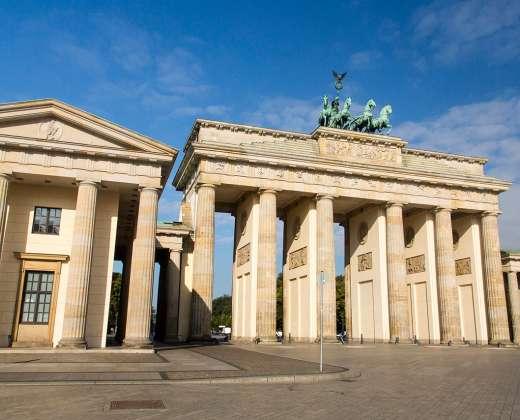 Vokietija. Berlynas. Branderburgo vartai