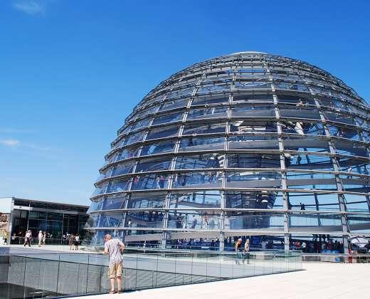 Vokietija. Berlynas. Reichstagas