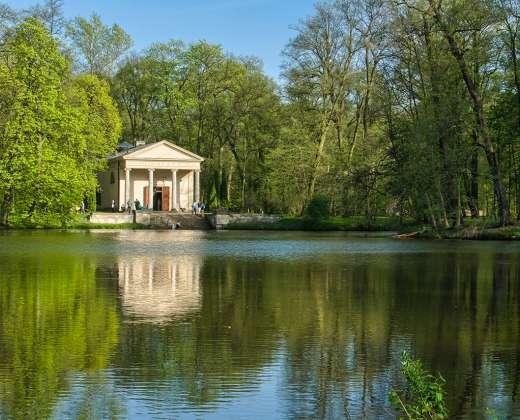 Lenkija. Radvilų rūmų parkas