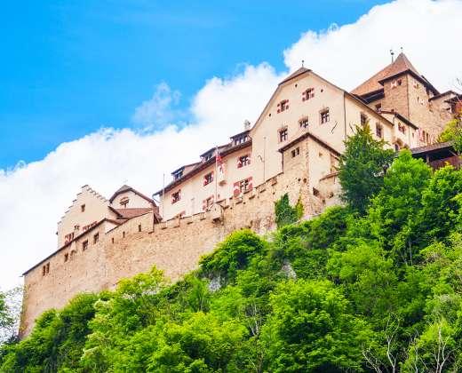 Lichtenšteinas. Karališkieji rūmai