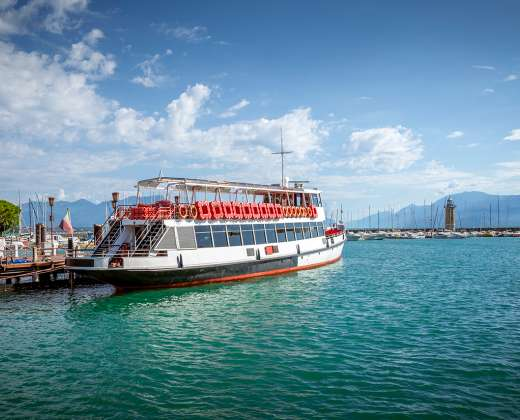 Italija. Gardos ežeras