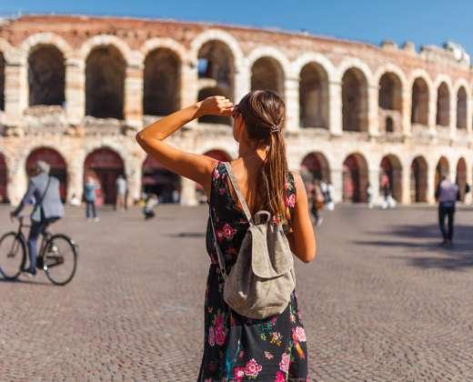 Italija. Veronos amfiteatras