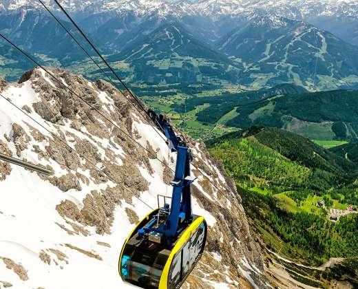 Austrija. Dachšteino kalnai