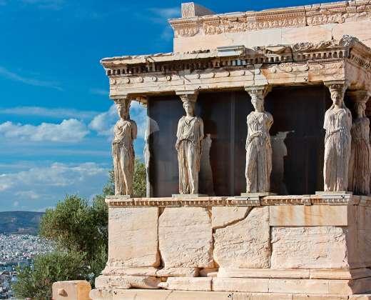 Atėnai. Kariatidės