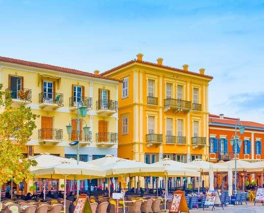 Graikija. Nafplijos miestas