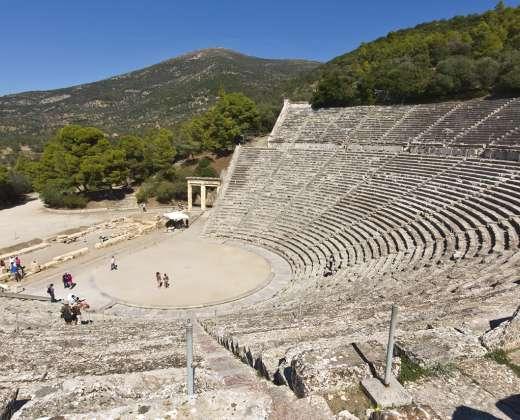 Graikija. Epidauro teatras