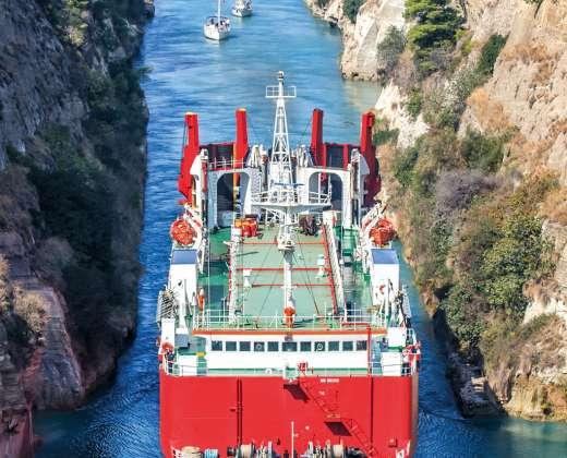 Graikija. Korinto kanalas