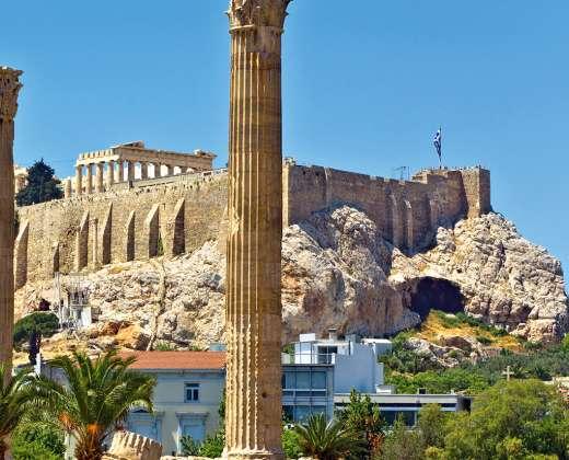 Graikija. Olimpija. Dzeuso šventykla