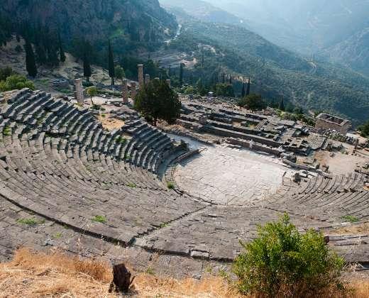 Graikija. Delfai