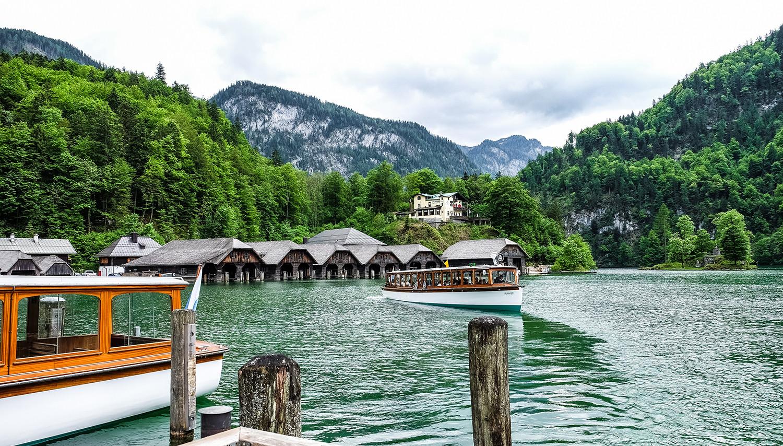 Didysis Bodeno ežeras ir didingas Alpių kalnų grožis