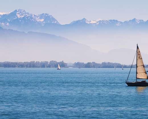 Vokietija. Bodeno ežeras