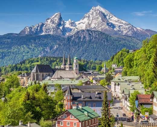 Vokietija. Berchtesgadenas