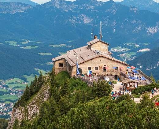 "Vokietija. Berchtesgadenas. ""Erelio lizdas"""