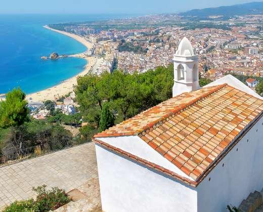 Ispanija. Vaizdas nuo San Joan viršukalnės