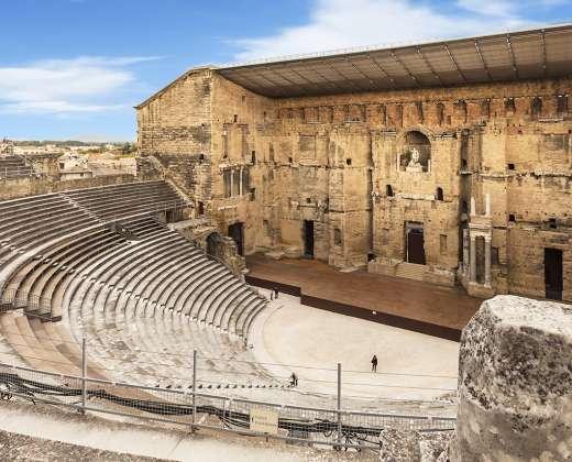 Prancūzija, Oranžas. Antikinis teatras