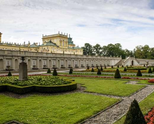 Lenkija. Vilanovo rūmai ir parkas