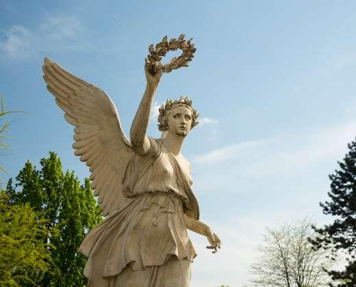 Lenkija. Vilanovo rūmų parko skulptūra