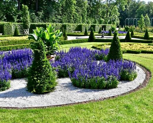 Lenkija. Vilanovo rūmų parkas