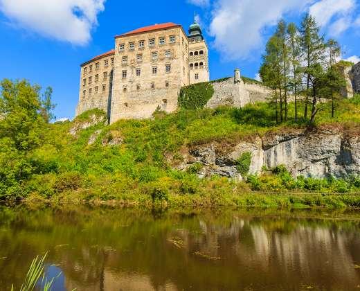 Lenkija. Pieskova Scala pilis