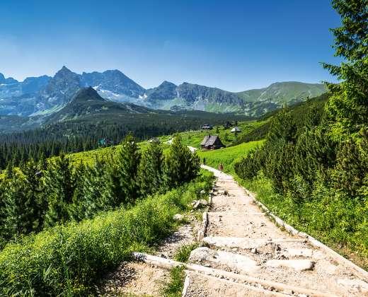 Lenkija. Tatrų kalnai