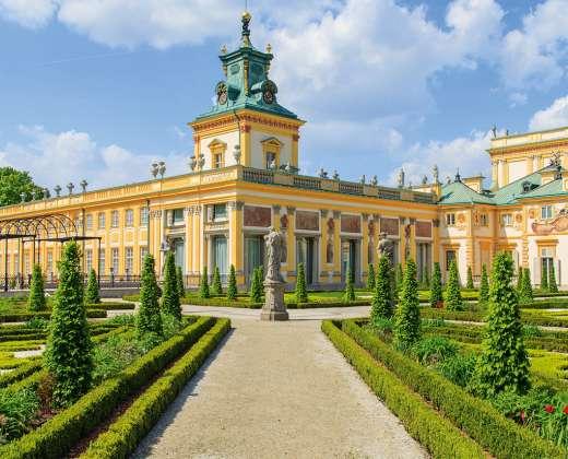 Varšuva. Vilanovo rūmai