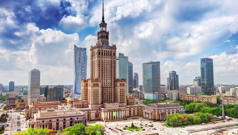 Varšuva - puošnioji Lenkijos sostinė (B139 Varsuva, Europe)