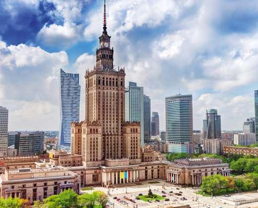 Lenkija. Kultūros ir mokslo rūmai