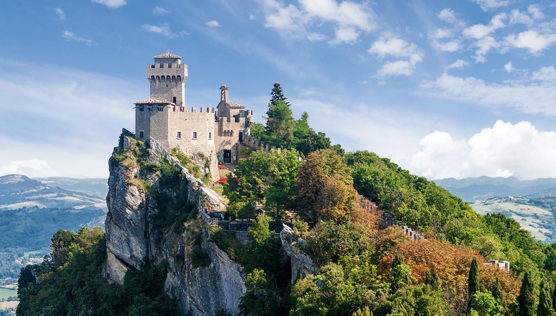 Italija. San Marinas