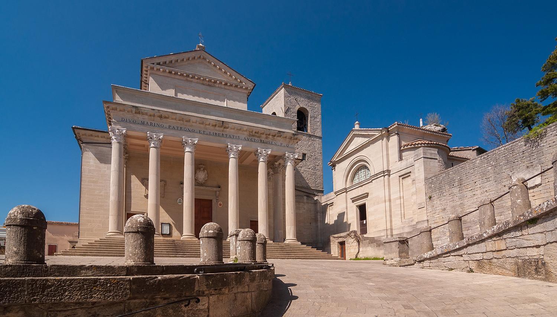 Italija. San Marino bazilika