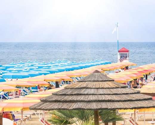 Italija. Riminis. Adrijos jūra