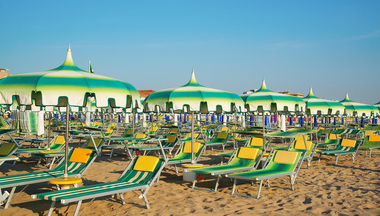 Italija. Rimini. Adrijos jūra