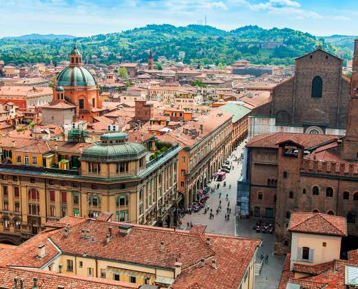 Italija. Bolonija