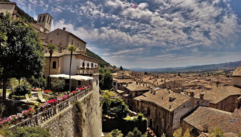 Italija. Gubbio