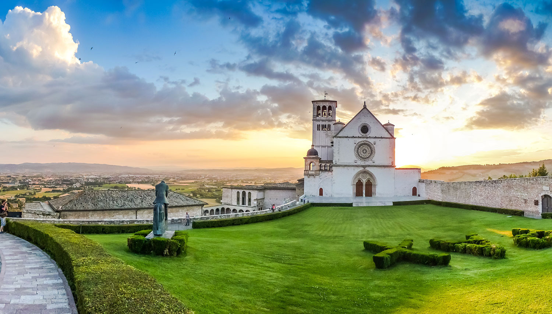 Italija. Asyžius. Bazilika