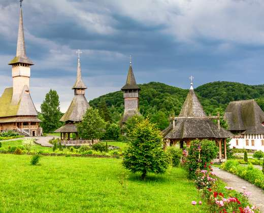 Rumunija. Maramures provincija