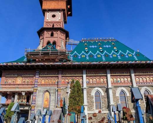 Rumunija. Sapantos kapinaitės