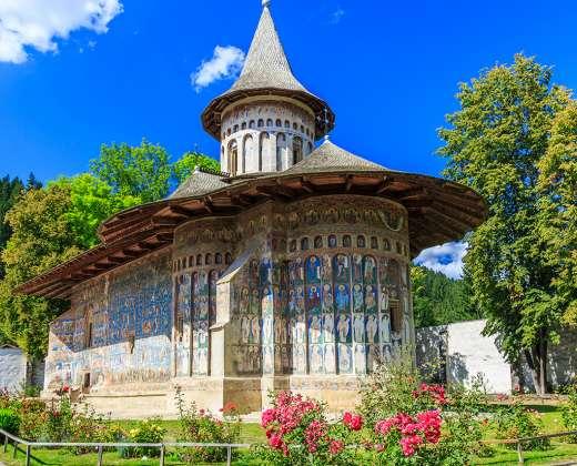 Rumunija. Voroneto vienuolynas