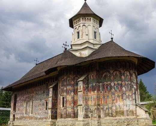 Rumunija. Moldovitos vienuolynas